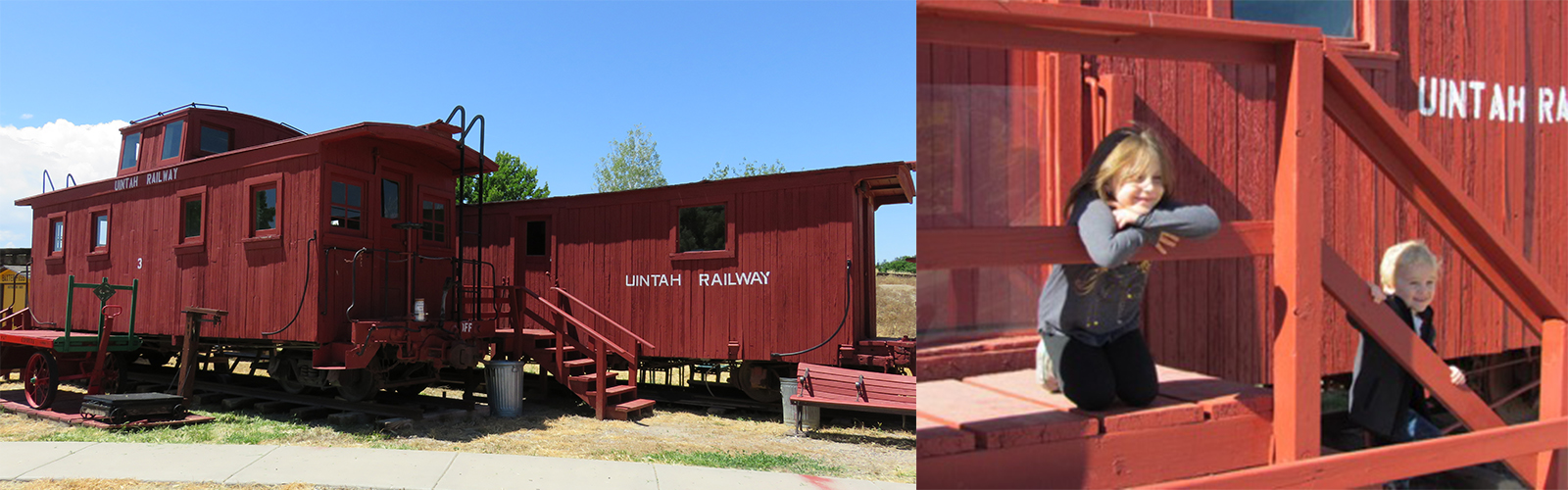 Uintah Train Exhibit